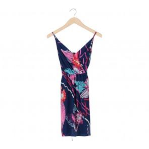 Yumi Kim Multi Colour Abstract Sleeveless Mini Dress