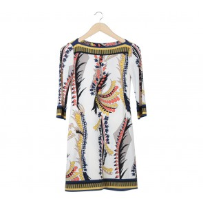 Ali Ra Multi Colour Patterned Mini Dress