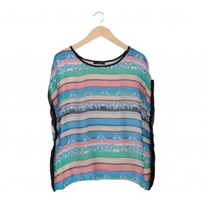 Icons Multi Colour Blouse