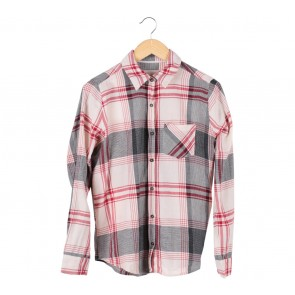 Forever 21 Multi Colour Plaid Shirt