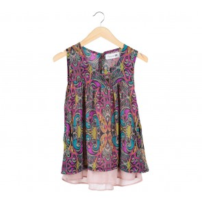 Forever 21 Multi Colour Sleeveless