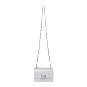 Charles and Keith Silver Satchel