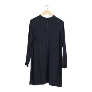 H&M Dark Blue Mini Dress