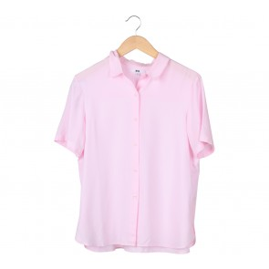 UNIQLO Pink Shirt