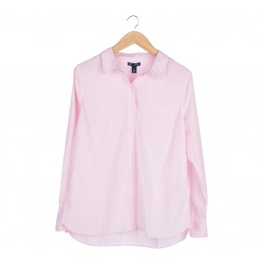 GAP Pink Striped Shirt