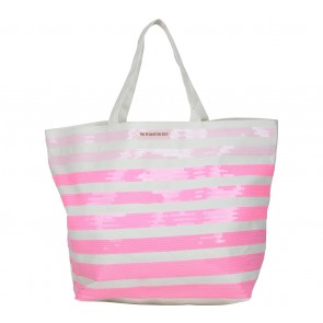 Victoria Secret Cream Tote Bag