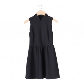 Topshop Black Cheongsam Mini Dress