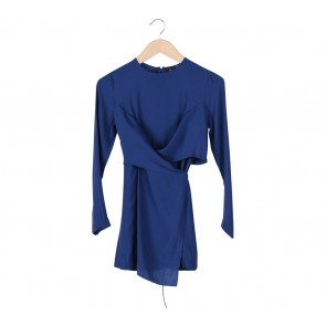 UNIQLO Blue Mini Dress