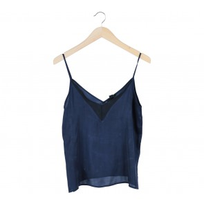 Forever 21 Dark Blue Sleeveless
