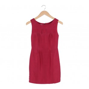 Kate Spade Red Babydoll Sleeveless Mini Dress
