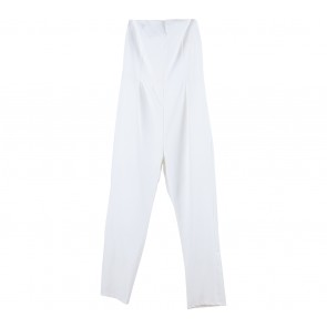 Chocochips White Tube Long Jumpsuit