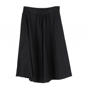 Cotton Ink Black Skirt