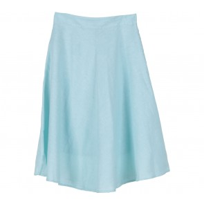 Cotton Ink Blue Skirt