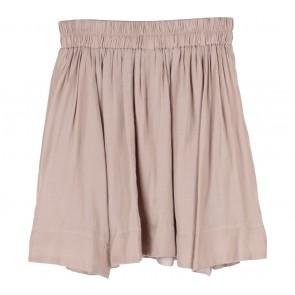 Petite Cupcake Brown Mini Skirt