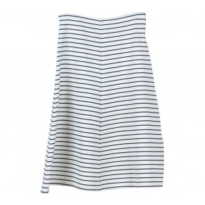 Zara White Stripes Skirt