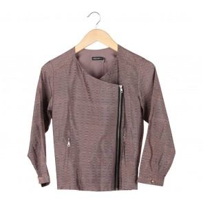 Anynome Brown Tenun Bicker Jacket