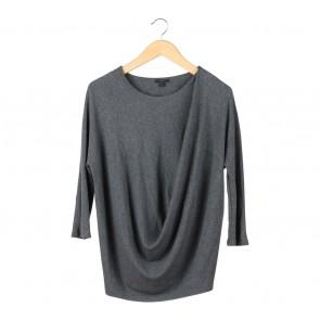 COS Dark Grey Blouse