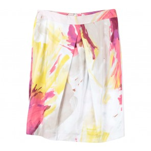 Max Mara Multi Colour Abstract Skirt