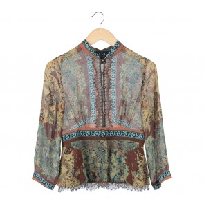 Nicole Miller Multi Colour Blouse