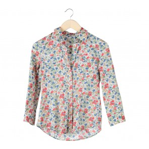Theory Multi Colour Floral Shirt
