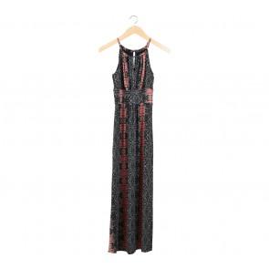 Wallis Multi Colour Sleeveless Midi Dress