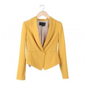 BCBG Max Azria Yellow Blazer
