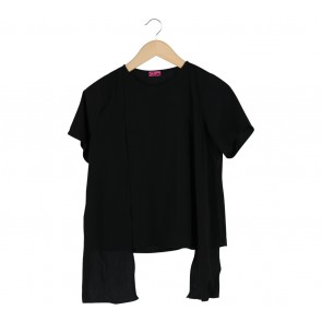 CLeo Black Blouse