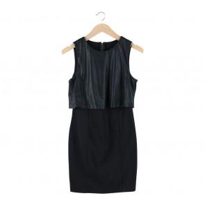 Zara Black Combi Mini Dress