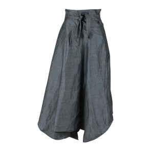 Soep Shop Grey Tied Skirt