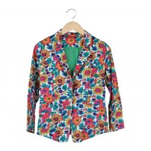 Multi Colour Floral Blazer