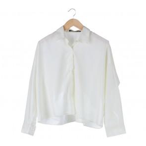 Shop At Velvet Off White Loose Shirt
