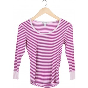 Banana Republic Pink And Purple Stripes T-Shirt