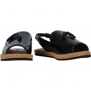 Seestem Black Sandals
