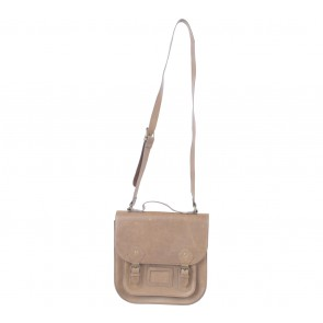 Divided Brown Sling Bag