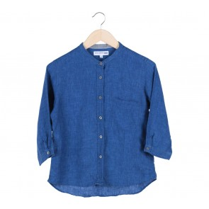 UNIQLO Blue Denim Blouse