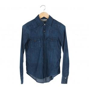 Zara Blue Denim Shirt