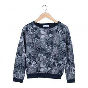 Zara Blue Patterned Sweater