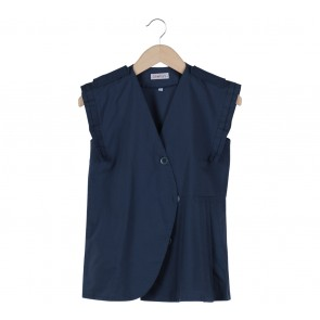 Deways Blue Sleeveless Blouse