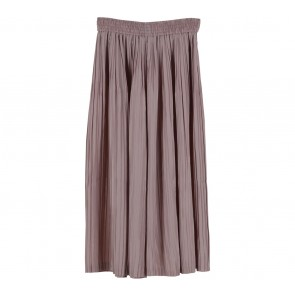 Lilac Brown Pleated  Pants