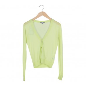 UNIQLO Green Sheer Cardigan