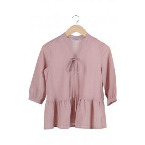 Pink Blush Peplum Top