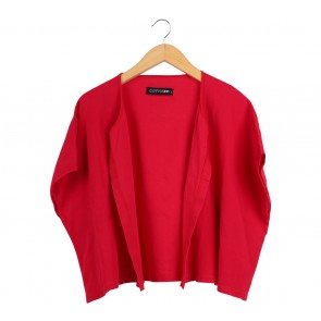 Cotton Ink Red Outerwear