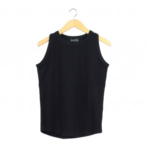 Nikicio Black Sleeveless