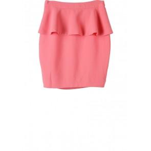 Forever 21 Pink Peplum Skirt
