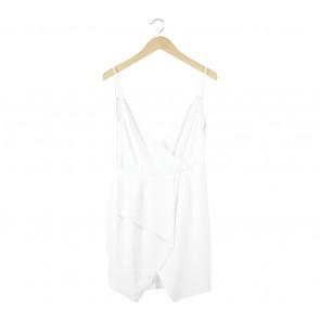 Status Quo Off White Sleeveless Mini Dress