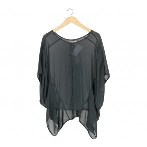 (X)SML Dark Grey Blouse