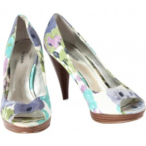 Style&co Multi Colour Floral Heels