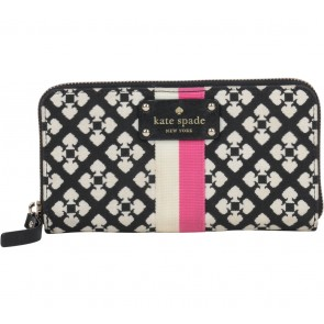 Kate Spade Multi Colour Patterned Wallet