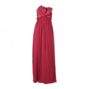 Marchesa Notte Red Tube Long Dress