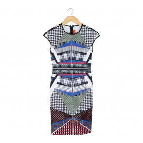 Clover Canyon Multi Colour Book of Kells Midi Dress